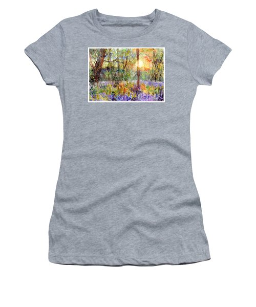 Violet Sunrise Women's T-Shirt