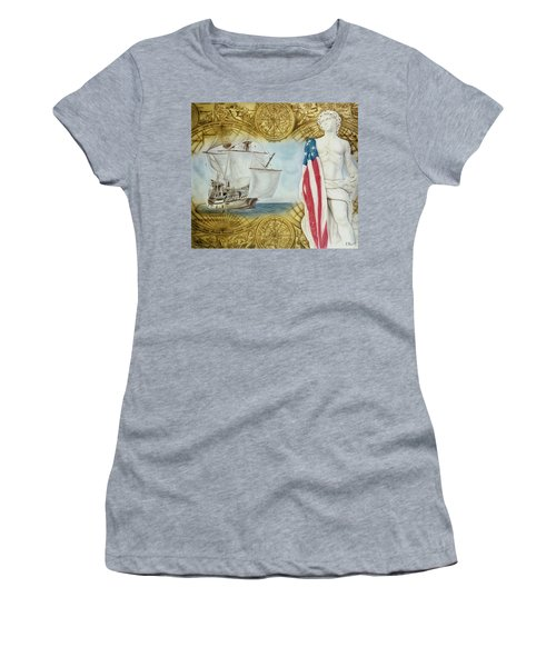 Visions Of Discovery Women's T-Shirt (Athletic Fit)