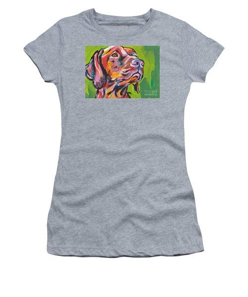 Viva La Vizsla Women's T-Shirt (Athletic Fit)