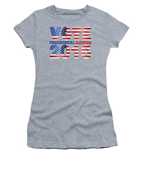 Vote 2016 Usa Presidential Election Illustration Women's T-Shirt