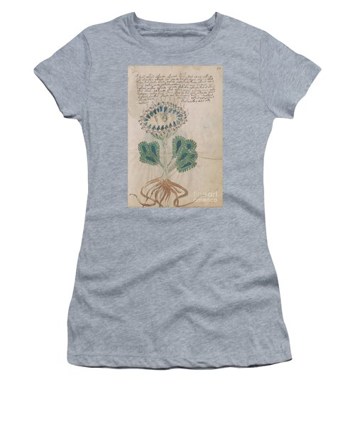 Voynich Flora 11 Women's T-Shirt (Athletic Fit)