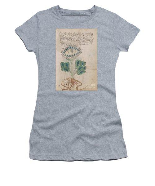 Voynich Flora 11 Women's T-Shirt (Athletic Fit)