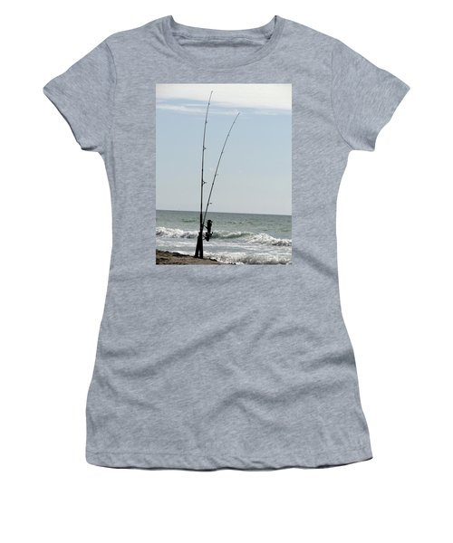 Waiting For The Bait Women's T-Shirt