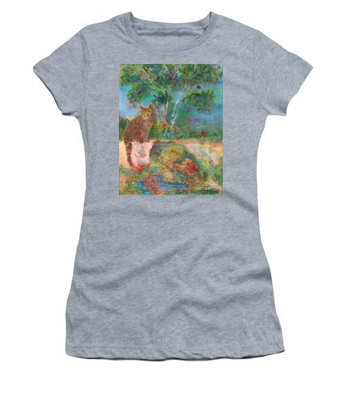 Waiting Patiently Women's T-Shirt (Athletic Fit)