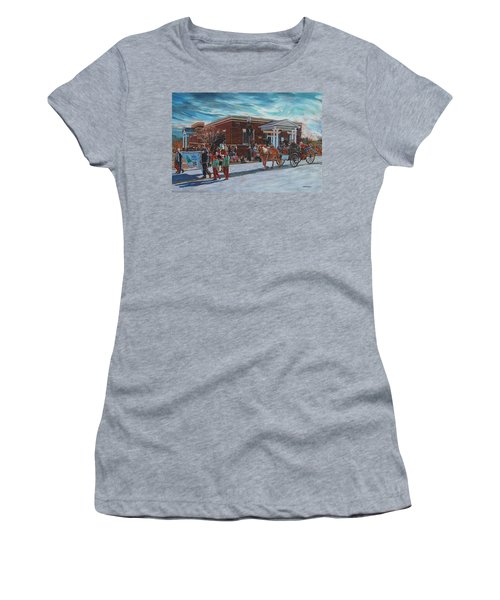 Wake Forest Christmas Parade Women's T-Shirt (Athletic Fit)