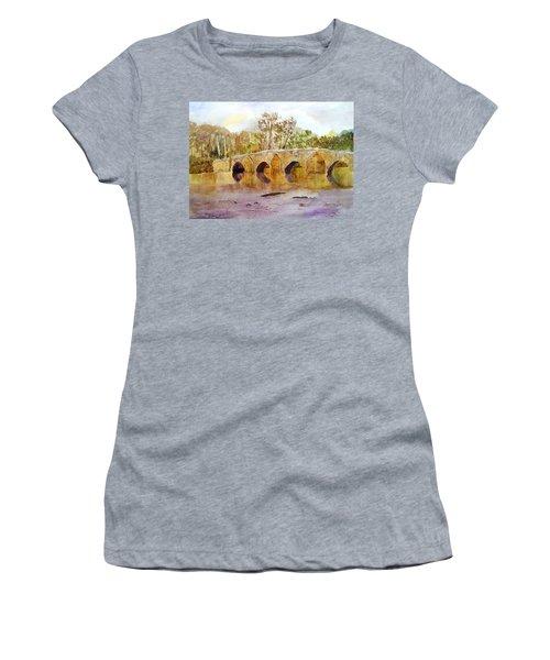 Wales Dipping Bridge Women's T-Shirt