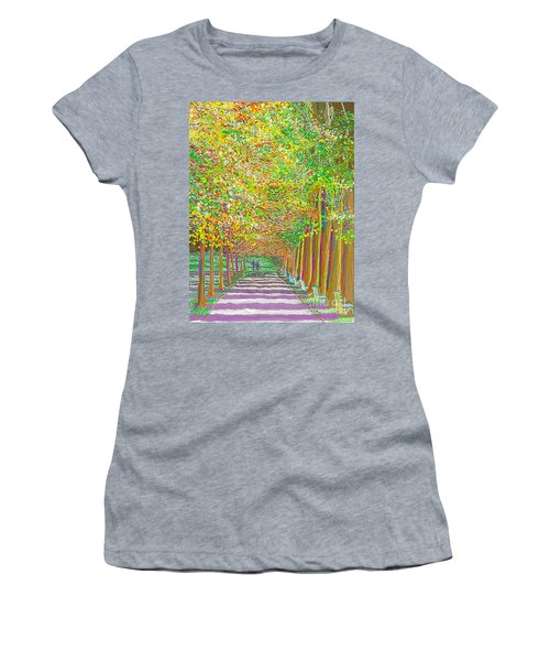 Walk In Park Cathedral Women's T-Shirt