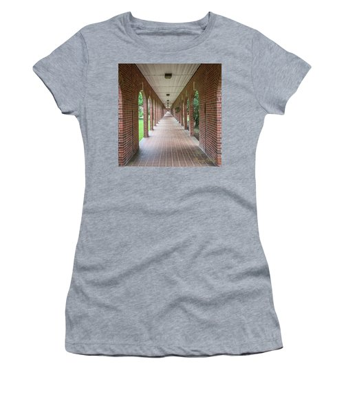 Women's T-Shirt (Junior Cut) featuring the photograph Walk Of Honor 3 by Gregory Daley  PPSA
