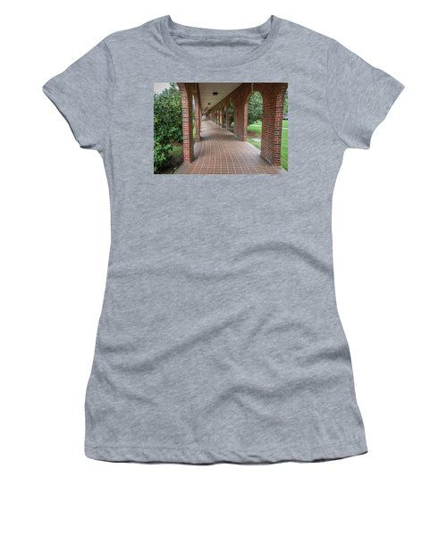 Women's T-Shirt (Junior Cut) featuring the photograph Walk Of Honor 6 by Gregory Daley  PPSA