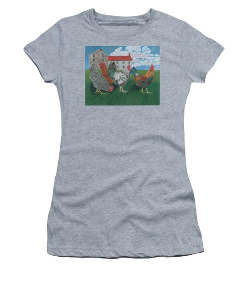 Walk This Way Women's T-Shirt (Athletic Fit)