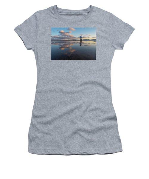 Walking In The Sunset Women's T-Shirt