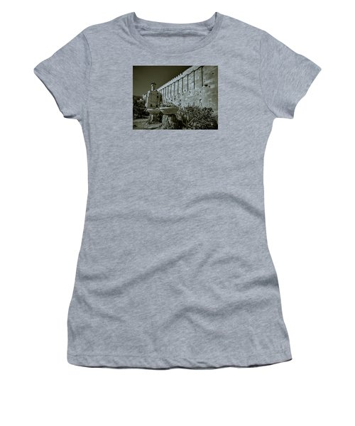 Wall Of Cave Of The Patriarchs Women's T-Shirt (Athletic Fit)