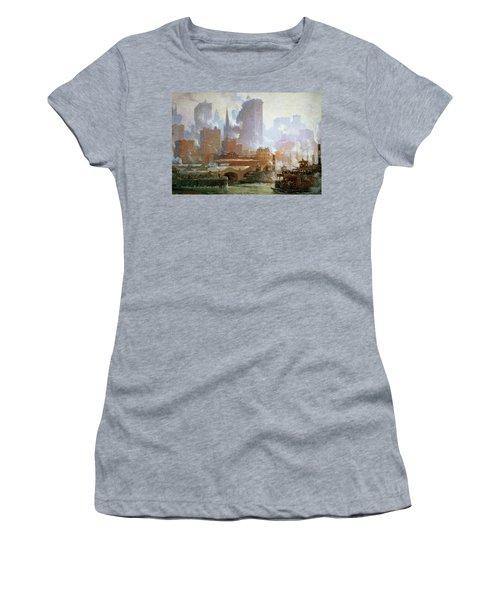 Wall Street Ferry Ship Women's T-Shirt
