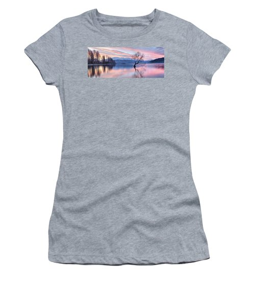 Wanaka Sunset Women's T-Shirt (Athletic Fit)