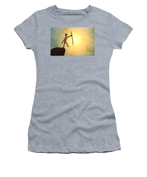 Wanderlust Women's T-Shirt (Junior Cut) by Mark Fuller