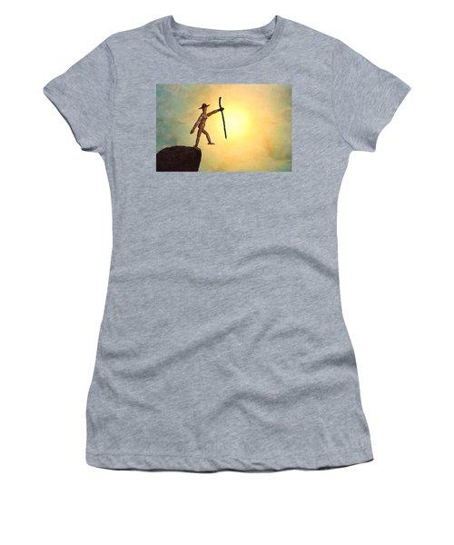 Wanderlust Women's T-Shirt (Athletic Fit)