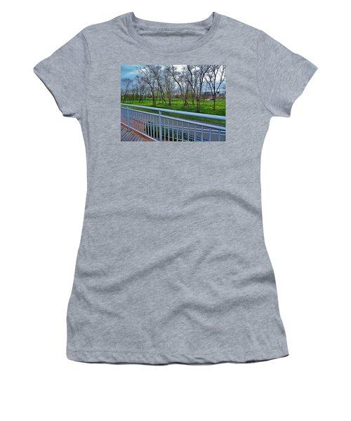 Warm Rainforest  Women's T-Shirt (Athletic Fit)
