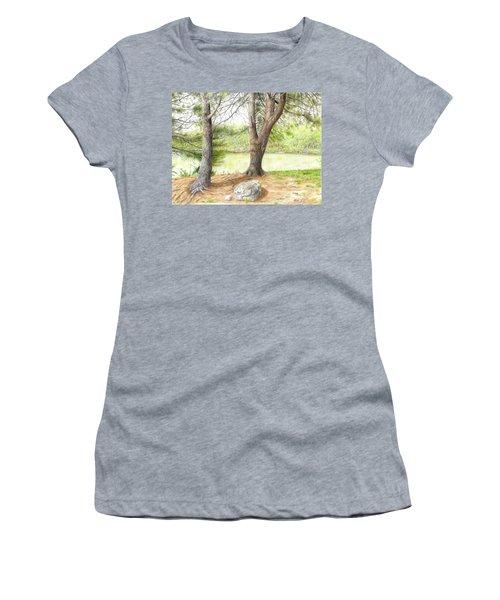 Warriors Path St Park Women's T-Shirt (Athletic Fit)