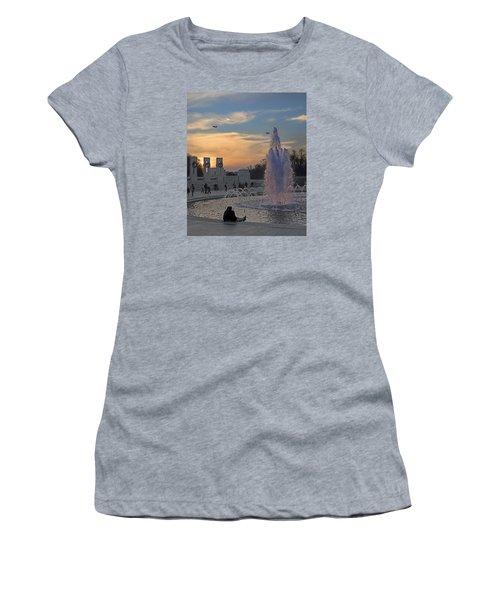 Washington Dc Rhythms  Women's T-Shirt (Athletic Fit)