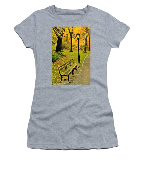 Washington Square Bench Women's T-Shirt