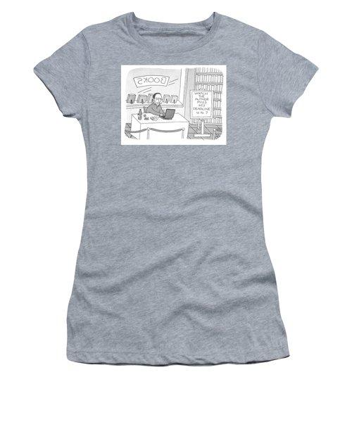 Watch The Author Miss His Deadline Women's T-Shirt