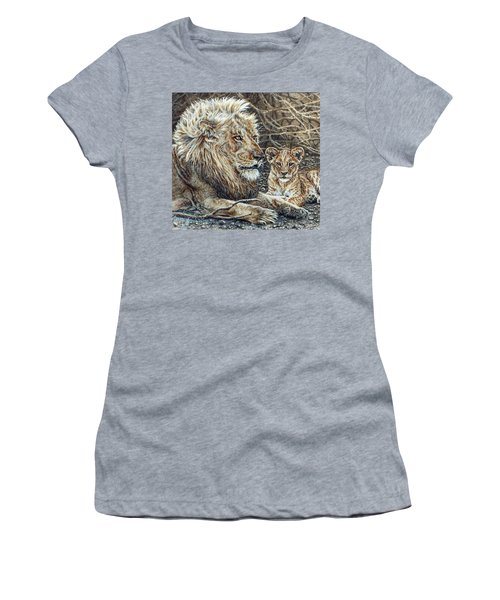Watching And Waiting Women's T-Shirt (Athletic Fit)