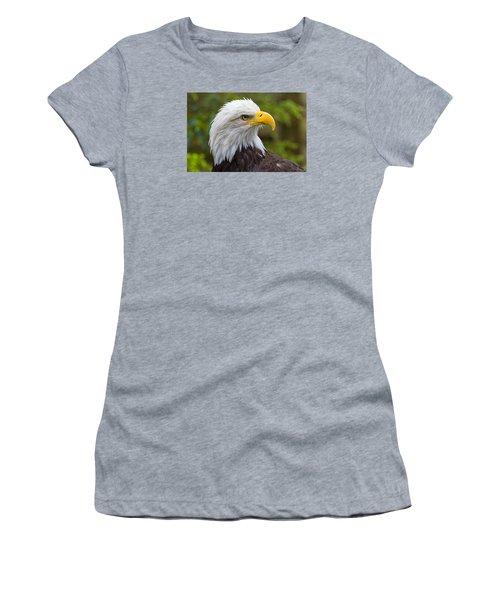 Watching Women's T-Shirt (Junior Cut) by Harold Piskiel