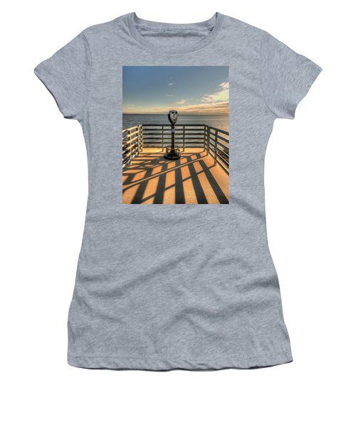 Watching Over The Bay Women's T-Shirt (Junior Cut) by Gary Slawsky