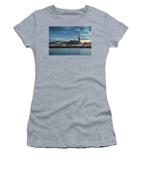 Watching The City Lights, Nijmegen Women's T-Shirt