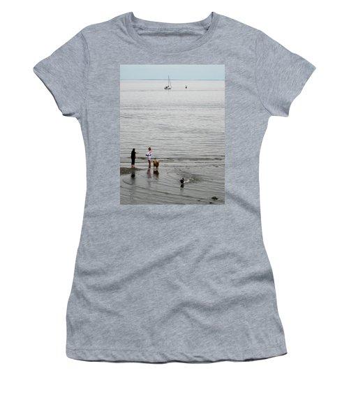Water Fun Women's T-Shirt (Junior Cut) by John Scates