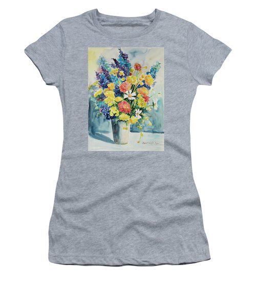 Women's T-Shirt featuring the painting Watercolor Series 20 by Ingrid Dohm