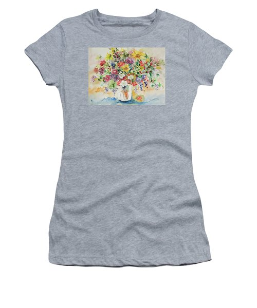 Watercolor Series 33 Women's T-Shirt (Athletic Fit)