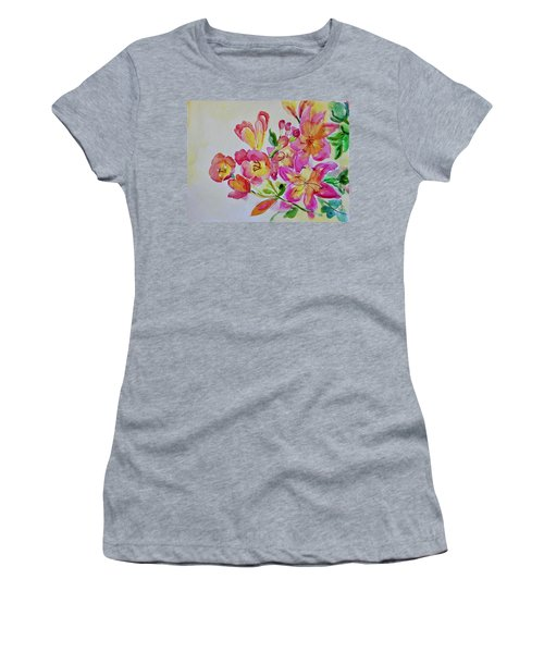 Watercolor Series No. 225 Women's T-Shirt (Athletic Fit)