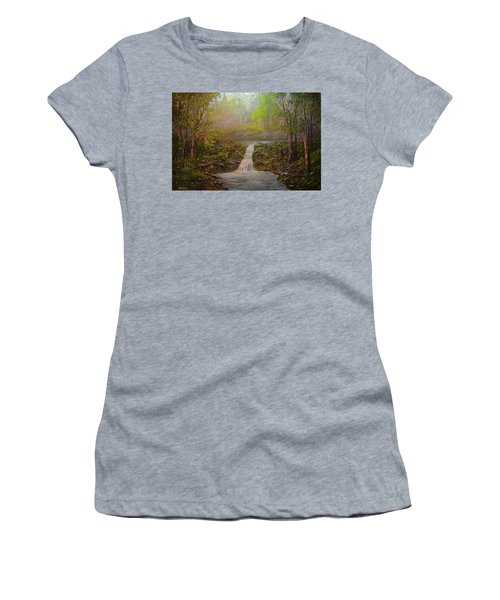 A Place Of Peace  Women's T-Shirt (Athletic Fit)