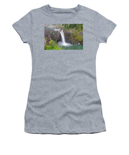 Waterfall Through The Mist Women's T-Shirt