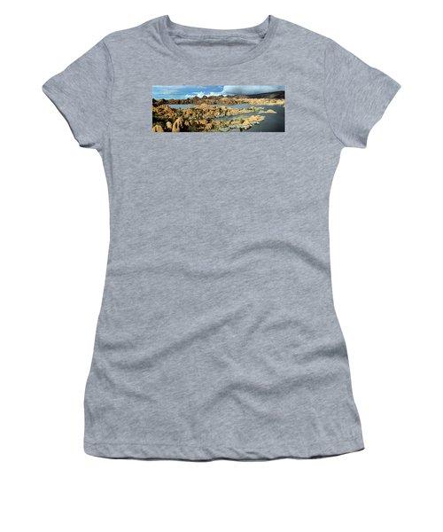 Watson Lake Arizona Women's T-Shirt (Athletic Fit)