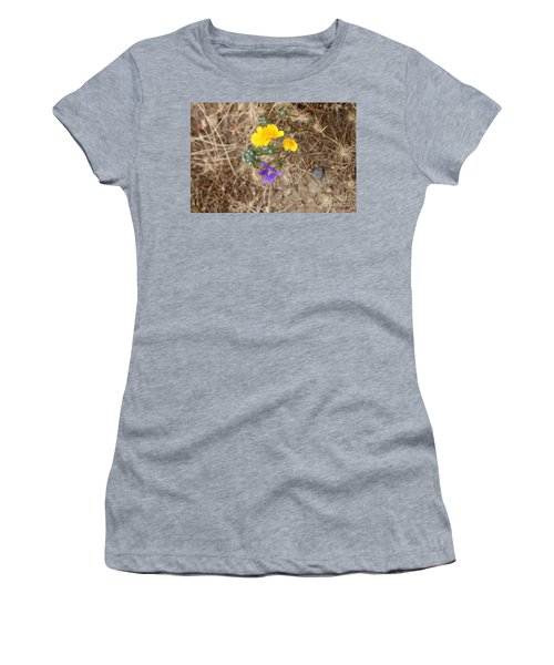Women's T-Shirt (Athletic Fit) featuring the photograph We Are Family by Marie Neder