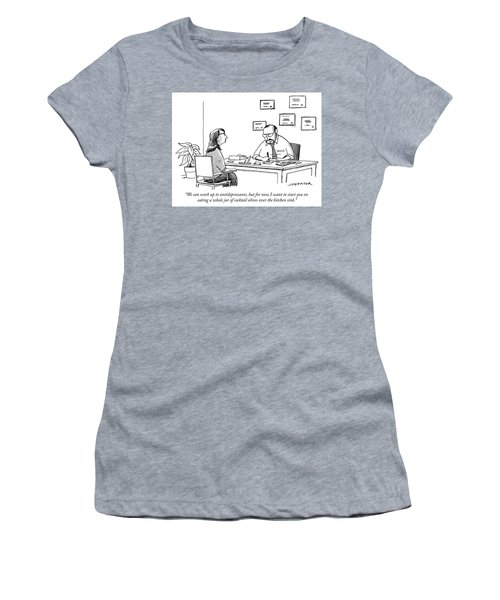 We Can Work Up To Antidepressants Women's T-Shirt