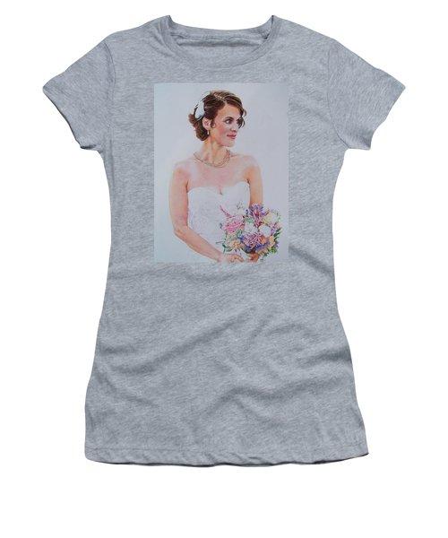 Wedding Day Women's T-Shirt (Junior Cut) by Constance DRESCHER