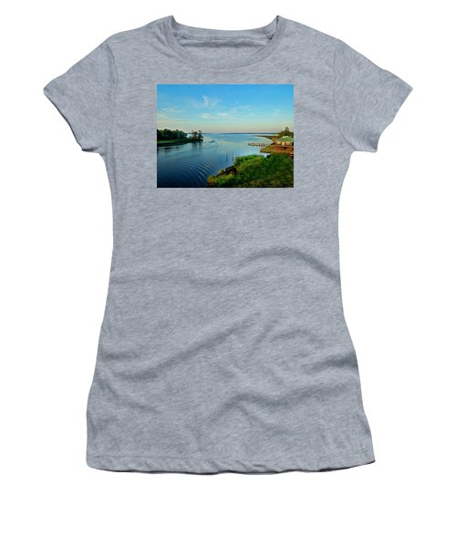 Weeks Bay Going Fishing Women's T-Shirt (Athletic Fit)