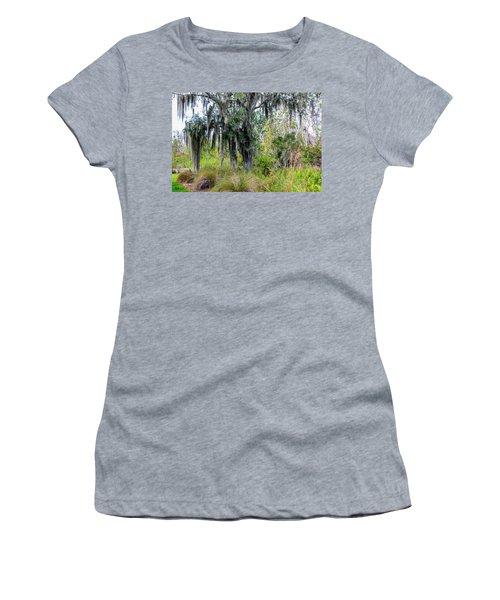 Women's T-Shirt (Junior Cut) featuring the photograph Weeping Willow by Madeline Ellis