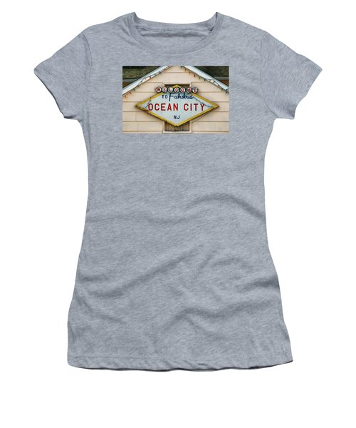 Welcome To Fabulous Ocean City N J Women's T-Shirt (Athletic Fit)