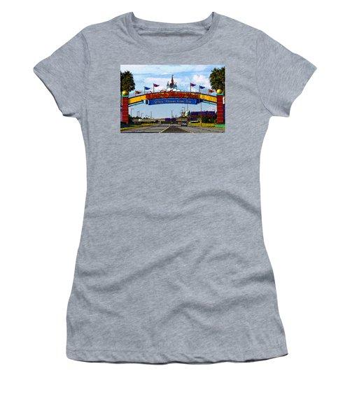 Were Dreams Come True Women's T-Shirt (Athletic Fit)