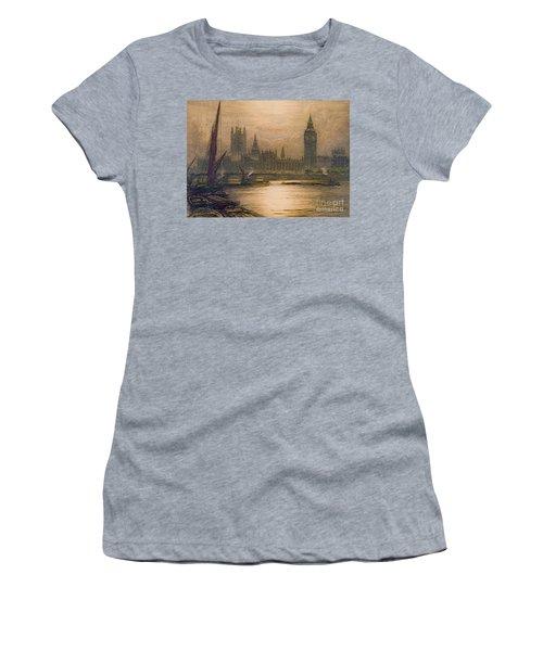 Westminster London 1920 Women's T-Shirt (Junior Cut) by Padre Art