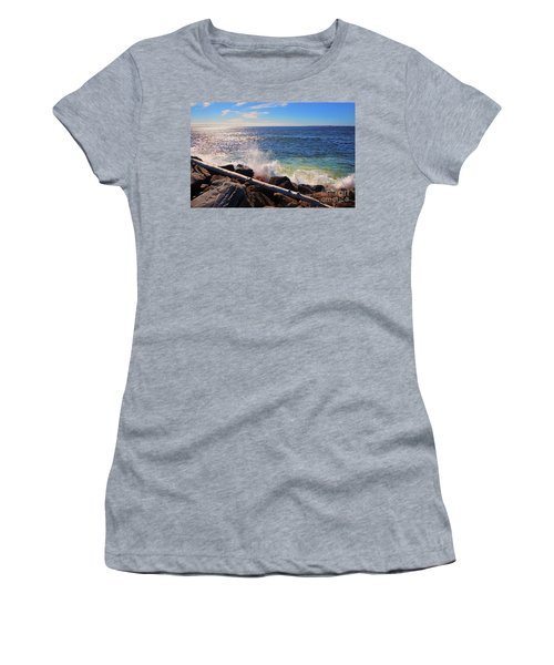 Westport Waves Women's T-Shirt (Athletic Fit)