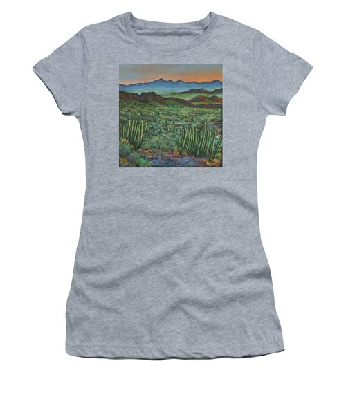 Westward Women's T-Shirt (Junior Cut) by Johnathan Harris