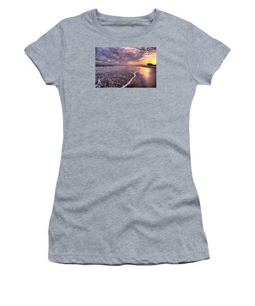 Wet Boots Women's T-Shirt (Junior Cut) by John Loreaux
