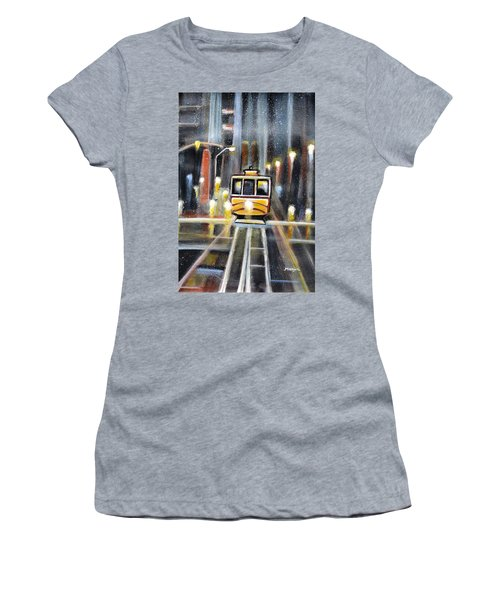 Wet Tram California Women's T-Shirt (Athletic Fit)