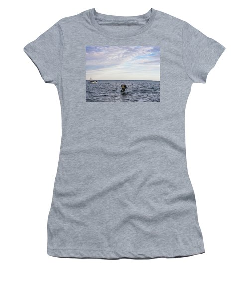 Whale Watching In Canada Women's T-Shirt (Athletic Fit)
