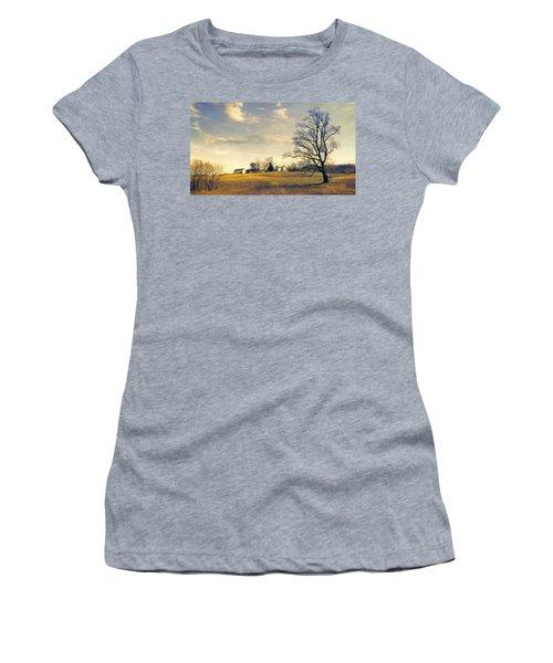 When I Come Back Women's T-Shirt (Junior Cut) by John Rivera
